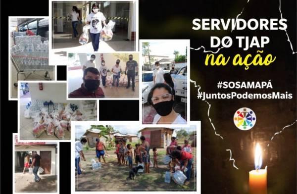 SOS Amapá: Fenajud e sindicato pedem doações em apoio às famílias do estado